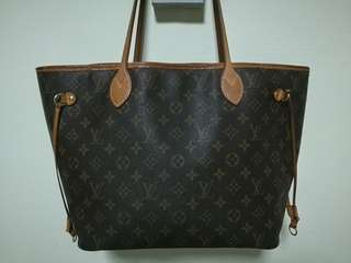 LV Monogram Canvas Neverfull MM