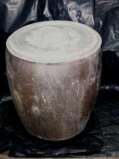 古董醬釉瓦缸 ( 民初或稍後)