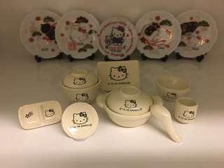 開心Share-@2006 Hello Kitty mini tea set 迷你陶瓷