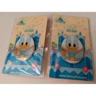 迪士尼花蛋徽章襟章 廸士尼 唐老鴨 Disney Pins Egg Pins Donald Duck