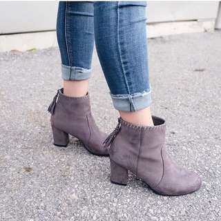 Suede boots size 7