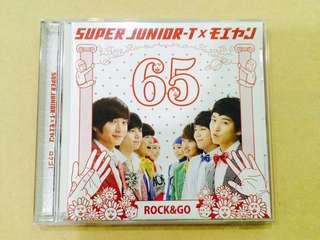 🚚 Super Junior-T x モエヤン 日文單曲 ロクゴ ROCK&GO 顛倒歌 二手保存佳