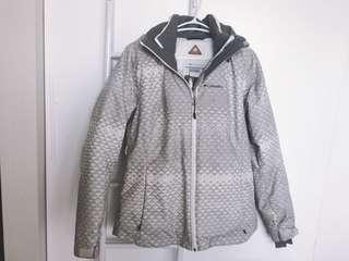 Columbia winter ski jacket/double layer