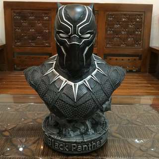 (NEW) Marvel Black Panther Bust half scale 1/2