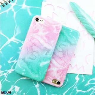 Swirl Glossy Full Cover Case Iphone