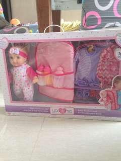 Baby Girl Doll Gift Set