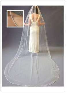BRAND NEW CATHEDRAL WEDDING VEIL