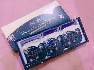 🇯🇵ISHIYA SHIROI KOIBITO WHITE LOVER WHITE CHOCOLATE PUDDINGS