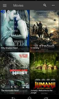Downloaded movies series anime