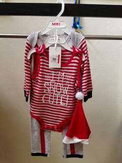 Baby wear & shoes (1 set)