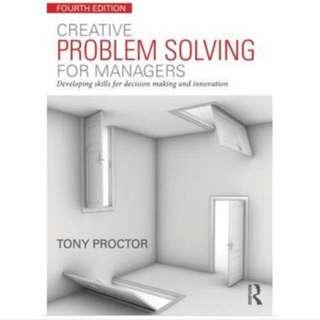 Tony Proctor Creative problem solving textbook