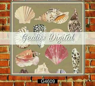 Jilbab/Hijab Voal Geuliss Digital Printing by Alisha