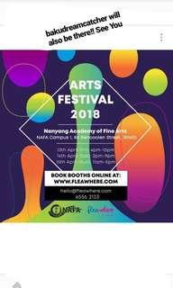 Flea at NAFA Arts Festival