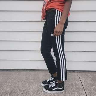 Adidas 3 Stripe Cigarette Pants