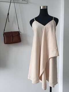 C/meo collective Cream Dress