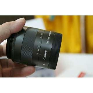 🚚 Canon eos m lens 18-55mm
