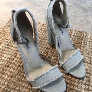 Windsor Smith Denim Heels