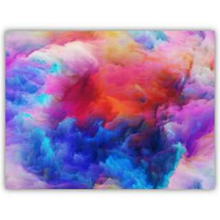 Unfolding of Colours, Canvas Print Wall Art