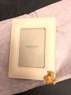 Mikimoto bear photo frame