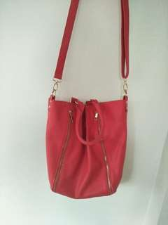 Colette red bag, good condition