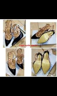 Sepatu heels Crape myrtle