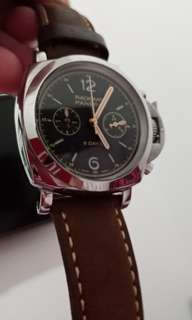 Panerai radidmir leather edition chrono