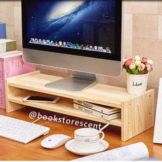 Instock Wooden Computer Stand