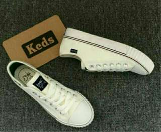 Keds leather shoes White Size 7