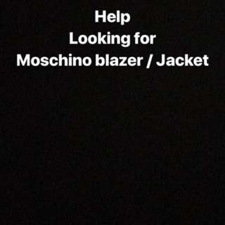 Looking for Moschino