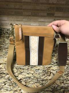 Brand New Coach Leather Crossbody Bag Purse