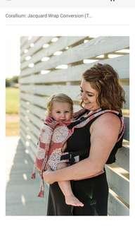 BN Soul Sling Corallium: Jacquard Wrap Conversion (Toddler)