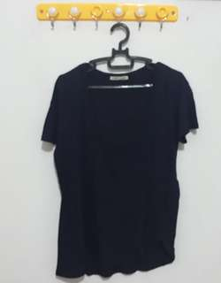 Zara Basic Blue T-shirt