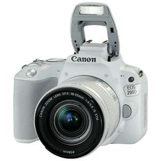 Canon Eos 200D lengkap Promo Credit Cepat 3Menit