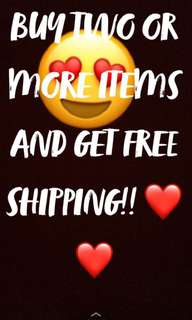 FREE SHIPPING!❤️
