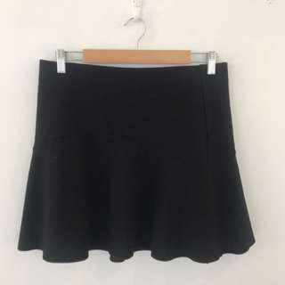 Witchery Black Skirt Size 12