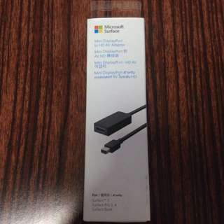 Microsoft Surface Mini DisplayPort to HD AV Adapter