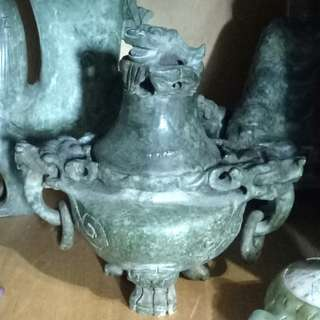 Old Jade/Stone carving statues