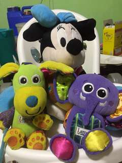 Lamaze and Disney Stuffed Toys - Take all for 500