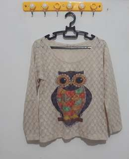 Long Sleeve Owl Shirt