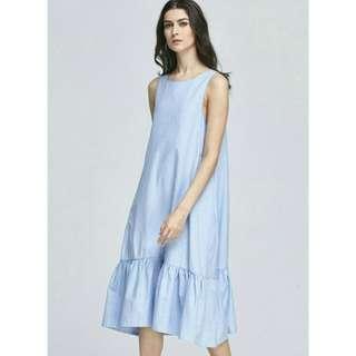 Zara Midi Poplin Dress