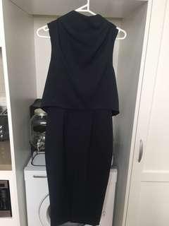 Keepsake sz XS Navy Dress BNWT $189.95
