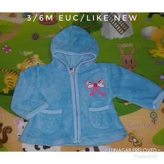 3/6m hooded jacket