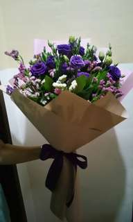 FRESH BOUQUET OF FLOWERS Mother's Day 2018