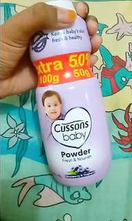 Cussons baby [ baby powder]