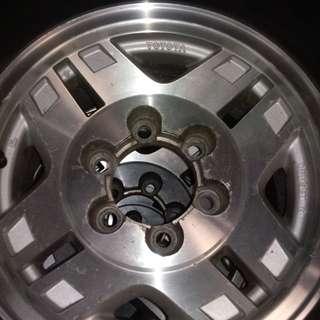 prado rims and tires