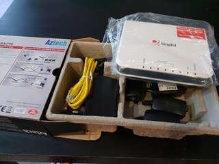 Aztech 4-Port ADSL Ethernet modem router