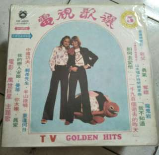 電視歌選5黑膠唱片