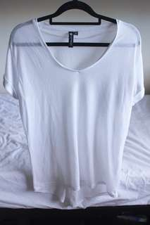COTTON ON White Loose Shirt - XS
