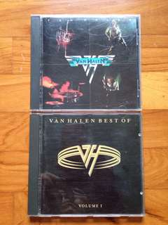 Van Halen CDs