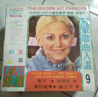冠軍歌曲入選9黑膠唱片
